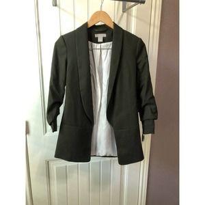 H&M Dark Green Blazer 0